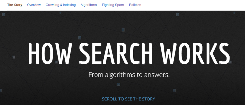 How Search Works - The Story