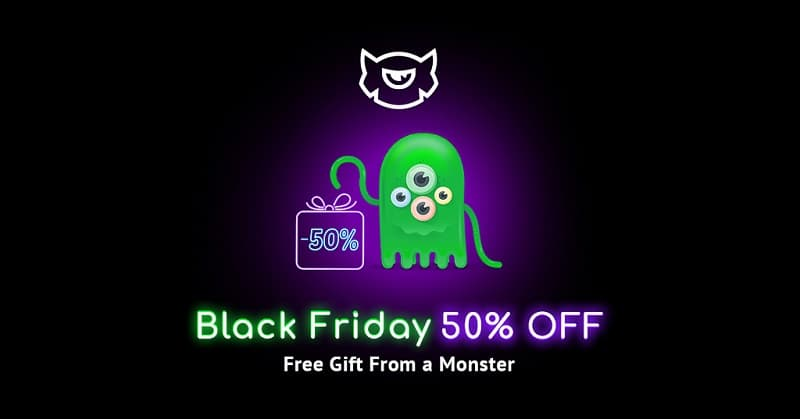 Template Monster Cyber Sale - 50% Discount