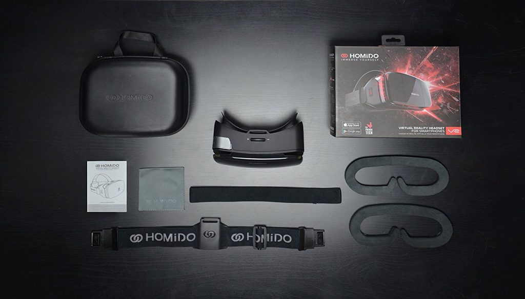 Homido Virtual Reality Headset V2 – best vr headset for iphone users