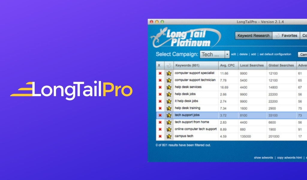 LongTailPro Review: In-Depth