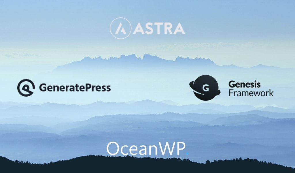 Astra vs GeneratePress vs OceanWP vs Genesis