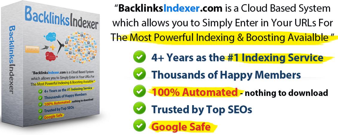 Backlinks Indexer Coupon & Discount Code
