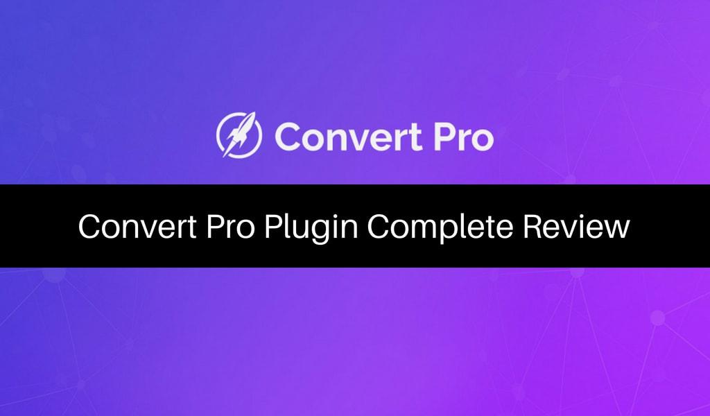 Convert Pro Review