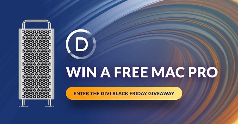Elegant Themes Mac Pro Giveaway on Black Friday