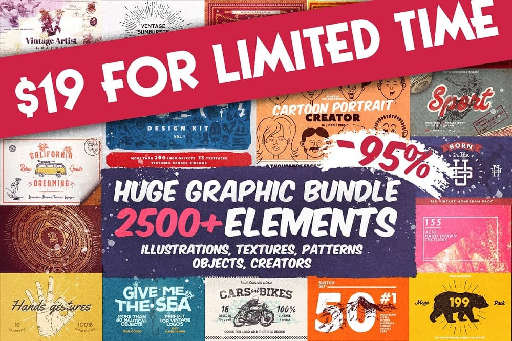 Best Graphic Bundles and Fonts for Bloggers and Designers