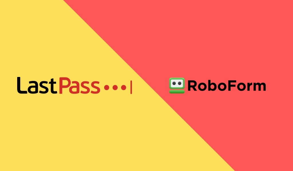 LastPass vs. RoboForm