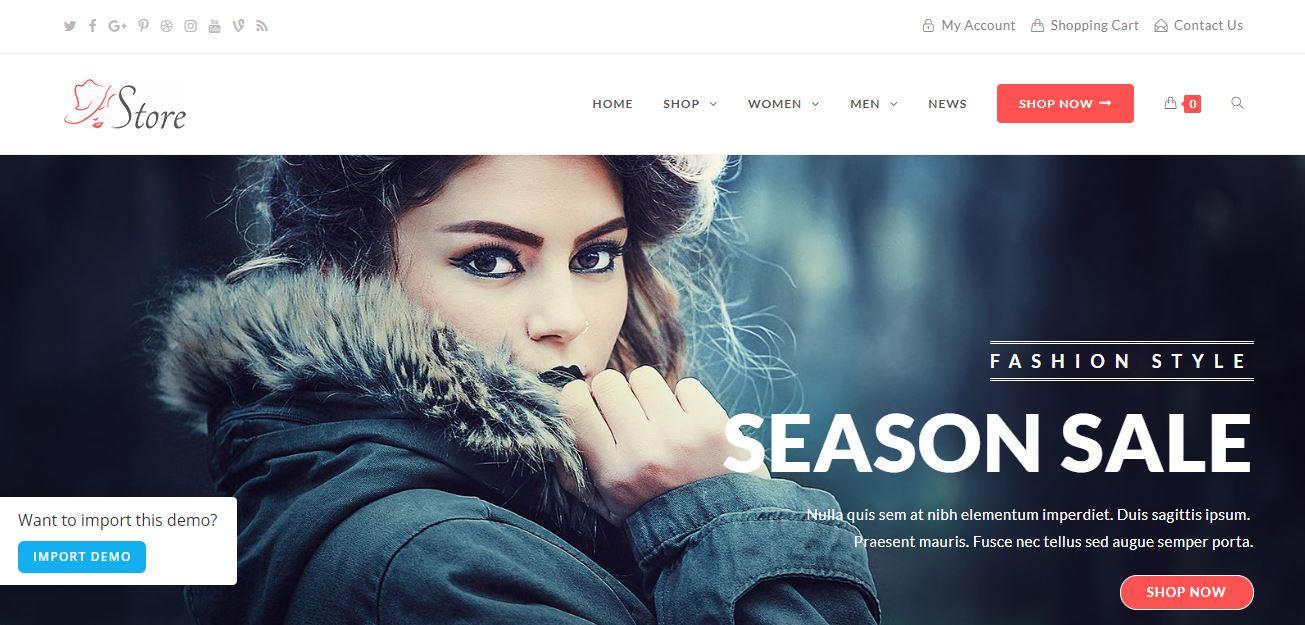 OceanWP Demo Website