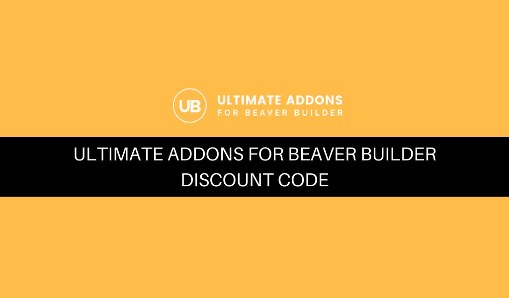 Ultimate Addons for Beaver Builder Discount Code