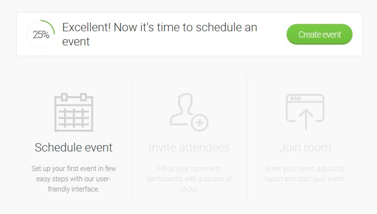 Creating Event in ClickMeeting