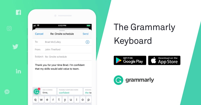 Grammarly Proofreading Software Used