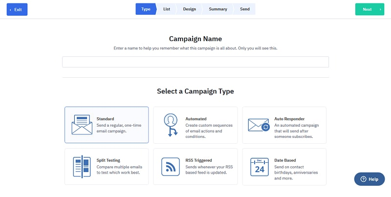 ActiveCampaign Email Campaign Creation